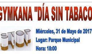 Gymkana con motivo del Día Sin Tabaco en Estepa