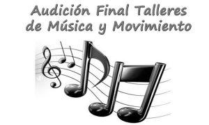 Audición final de los talleres de música y movimiento en Estepa