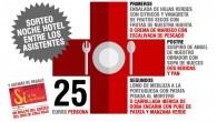 El viernes 7 de julio tendrá lugar en el Hotel Villa Olivar de Casariche una cena a beneficio de Cruz Roja de Estepa.