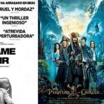 """Cine en Estepa: """"Déjame salir"""" y """"Piratas del Caribe"""""""