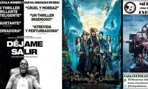 Cine en Estepa: «Déjame salir» y «Piratas del Caribe»