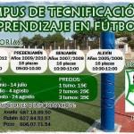 Campus de tecnificación y aprendizaje en fútbol de Estepa