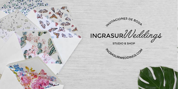 Ingrasur Weddings | Invitaciones de boda