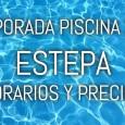 Este sábado abrirá al público la piscina municipal de Estepa poniendo a la venta entradas de solo un día y abonos.