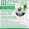 III Torneo de Verano de Fútbol Sala de Estepa, organizado por el C.D. Atlético Estepeño con la colaboración del Área de Deportes del Ayuntamiento de Estepa.