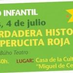"""Teatro en Estepa: """"La verdadera historia de Caperucita Roja"""""""