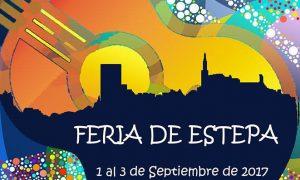 Cartel de la Feria de Estepa 2017