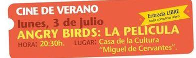 """Cine en Estepa: """"Angry Birds: la película"""""""