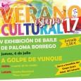 """Este jueves en la Caseta Municipal """"Paco Gandía"""" de Estepa, tendrá lugar la V Exhibición de Baile de Paloma Borrego bajo el nombre """"A golpe de Yunque""""."""