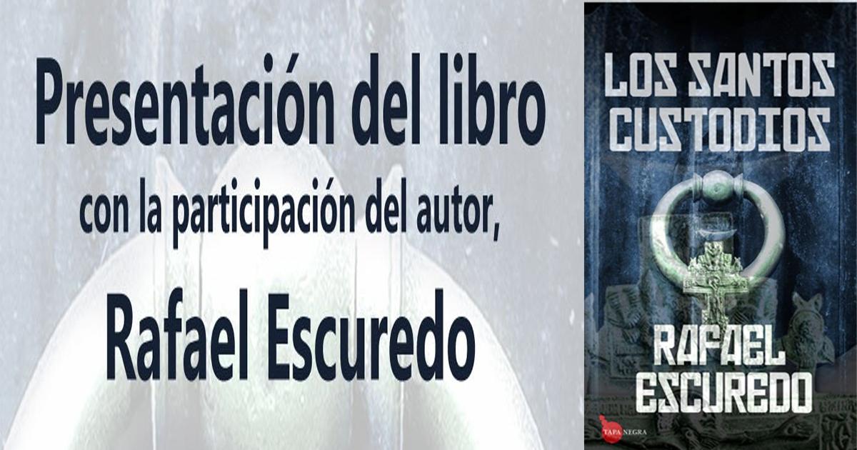 """Presentación en Estepa del libro """"Los Santos Custodios"""""""