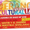 """En la Plaza del Carmen de Estepa se podrá disfrutar del espectáculo """"El sentir y el duende de nuestras sevillanas"""", a cargo de la Academia de Baile María José."""