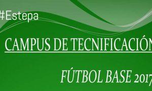 Campus de tecnificación de Fútbol Base en Estepa 2017