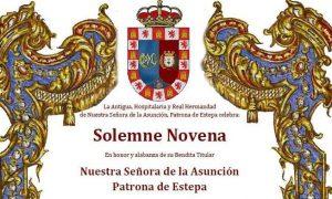 Solemne Novena en honor a la Patrona de Estepa, Nuestra Señora de la Asunción