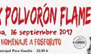 Polvorón Flamenco 2017 en Estepa