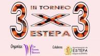 El próximo sábado 26 de agosto tendrá lugar en el Pabellón de Deportes Rafa Baena de Estepa la tercera edición del Torneo de Baloncesto 3x3.