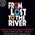 """El 5 de octubre en Estepa disfrutaremos del concierto de rock """"From lost to the river"""" a partir de las 20:30."""