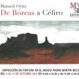 """Desde el 3 de octubre se podrá visitar en el Museo Padre Martín Recio de Estepa la exposición de pintura """"De Bóreas a Céfiro"""", del pintor Manuel Ortiz."""