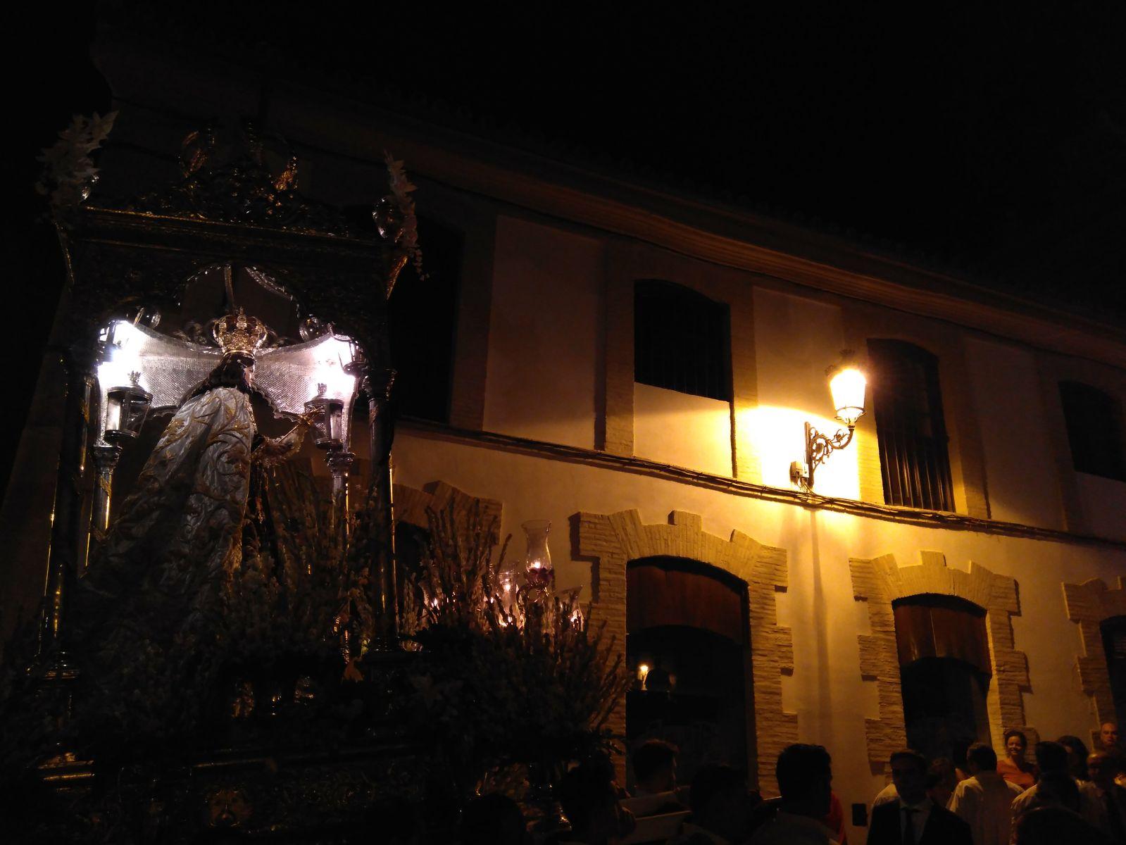 Fotos de Nuestra Señora del Carmen por las calles de Estepa