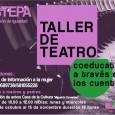 La Delegación de Igualdad del Ayuntamiento de Estepa organiza un taller de teatro dirigido a madres y padres.
