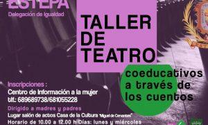 Taller de teatro para madres y padres en Estepa