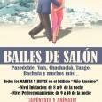 Los martes y jueves en el Edificio Niño Anselmo de Estepa se podrá aprender a bailar y divertirse con las clases de bailes de salón que organiza el Ayuntamiento