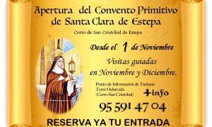 Apertura del Convento Primitivo de Santa Clara de Estepa