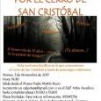 El viernes 3 de noviembre tendrá lugar en Estepa la tercera edición de la Ruta del Terror por el Cerro de San Cristóbal a través de personajes misteriosos.