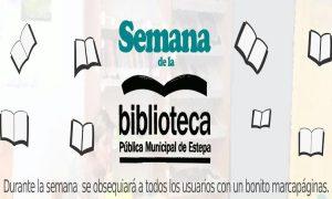 Semana de la Biblioteca 2017 en Estepa