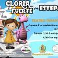 El 3 de noviembre en la Casa de la Cultura de Estepa los más pequeños podrá disfrutar de una sesión de teatro infantil en homenaje a Gloria Fuertes.