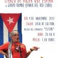 """El 9 de noviembre en la Casa de la Cultura de Estepa, Grupo Rumbo (Pinar del Río Cuba) representará la obra de teatro """"Lienzo de mujer que espera""""."""