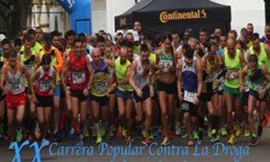 XX Carrera Popular contra la Droga en Estepa