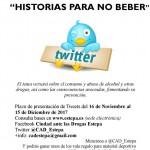"""IV Concurso de Microrrelatos  """"Historias para no beber"""""""