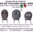Del 10 de noviembre al 23 de diciembre se impartirá en Estepa un Curso de nivel básico de italiano dirigido preferentemente a jóvenes entre 18 y 30 años.
