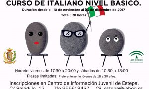Curso de italiano en Estepa