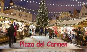 Mercado de Navidad en la Plaza del Carmen de Estepa