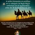 Hoy jueves 23 de noviembre tendrá lugar una reunión informativa sobre la Cabalgata de los Reyes Magos en Estepa.