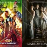 """Cine en Estepa: """"Thor Ragnarok"""" y """"El secreto de Marrowbone"""""""