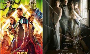 Cine en Estepa: «Thor Ragnarok» y «El secreto de Marrowbone»