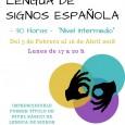 Del 5 de febrero al 16 de abril se impartirá en Estepa un curso de lengua de signos española de nivel intermedio con una duración total de 30 horas.