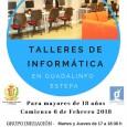 A partir del 6 de febrero se impartirán en el Centro Guadalinfo de Estepa talleres de informática destinados a mayores de 18 años.