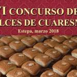 VI Concurso de Dulces de Cuaresma en Estepa
