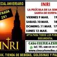 """Con motivo del aniversario del lanzamiento de """"Inri, la película de la Semana Santa de Estepa"""", Cine Meliés lanza una promoción durante el próximo fin de semana con entradas a 2x1."""