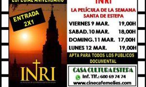 Aniversario de «Inri, la película de la Semana Santa de Estepa»