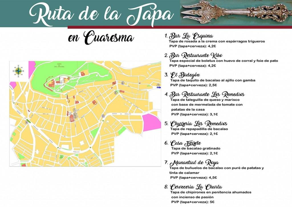 Tapas del concurso de cuaresma en Estepa
