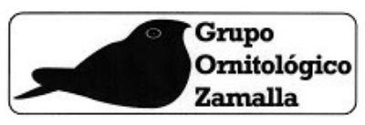Logo Grupo Ornitológico Zamalla