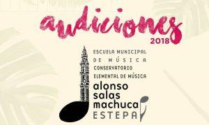 Audiciones de la Escuela Municipal de Música en Estepa