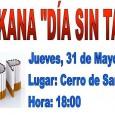 El jueves 31 de mayo se desarrollará en el Cerro de San Cristóbal de Estepa una Gymkana con motivo del Día Sin Tabaco.