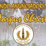 Pasacalles con motivo del Corpus Chiristi en Estepa