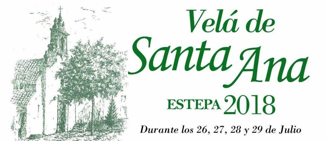 Velá de Santa Ana en Estepa 2018