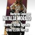 El jueves 30 de agosto en la Caseta Municipal Paco Gandía de Estepa podremos disfrutar de una noche de copla con la cantante Natalia Moralo.